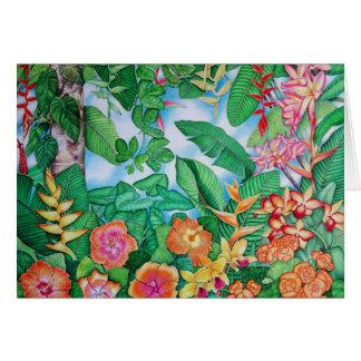Hawaiian Orange Card