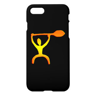 Hawaiian Paddle Man Petroglyph iPhone 8/7 Case