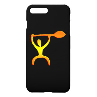 Hawaiian Paddle Man Petroglyph iPhone 8 Plus/7 Plus Case