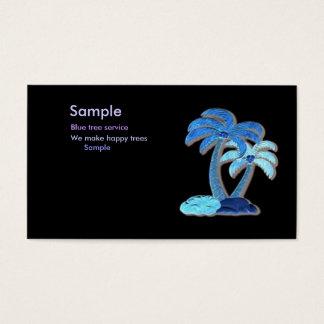 Hawaiian Palm tree Profile card