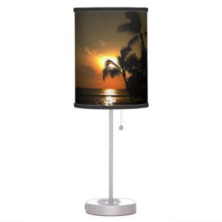 Hawaiian Palm Tree Table Lamp