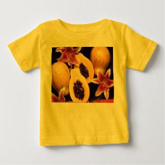 Hawaiian papayas baby T-Shirt
