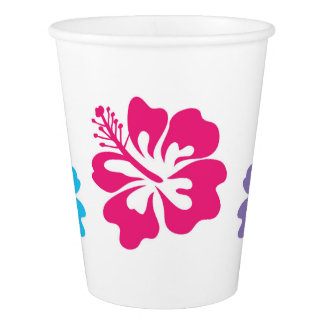 Hawaiian Paper Cups