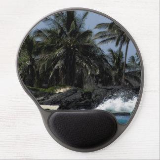 Hawaiian Paradise Gel Mouse Pad