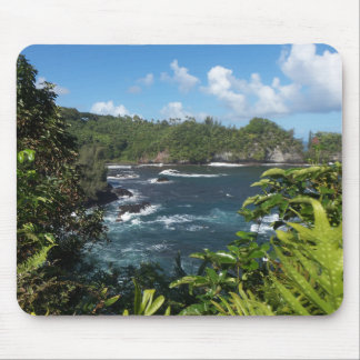 Hawaiian Paradise Mouse Pad