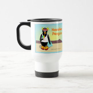 Hawaiian Penguin Travel Mug