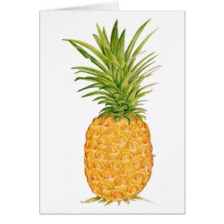 Hawaiian Pineapple Card