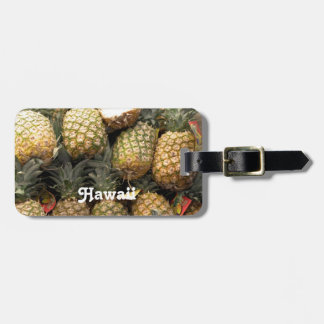 Hawaiian Pineapple Luggage Tag