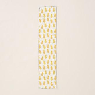 Hawaiian Pineapple Pattern Tropical Design Scarf