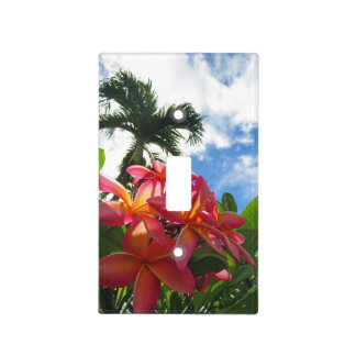 Hawaiian Plumeria Light Switch Cover