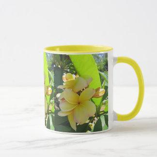 Hawaiian Plumeria Mug