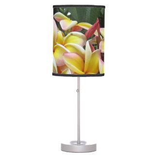 Hawaiian Plumeria Table Lamp