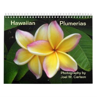 Hawaiian Plumerias Wall Calendars