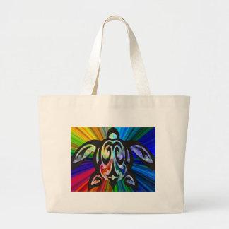 Hawaiian rainbow Turtle bag