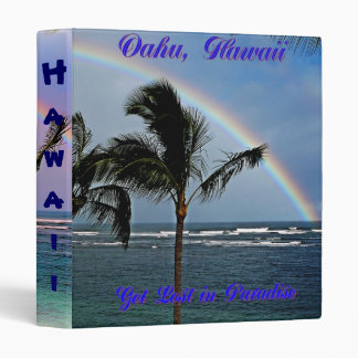 Hawaiian Rainbows Binder
