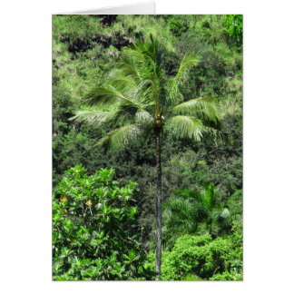 Hawaiian Rainforest Card