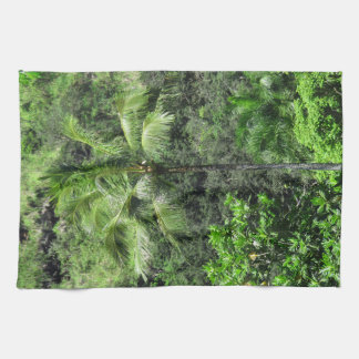 Hawaiian Rainforest Kitchen Towel