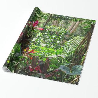 Hawaiian Rainforest Wrapping Paper