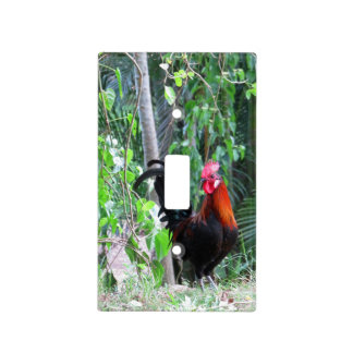 Hawaiian Rooster Light Switch Cover