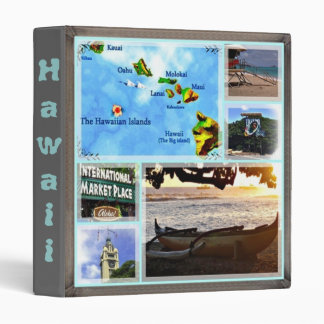 Hawaiian Scenes Binder