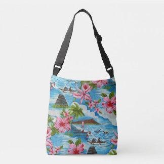 Hawaiian Scenes Crossbody Bag