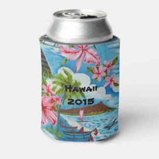 Hawaiian Scenes (customizable) Can Cooler