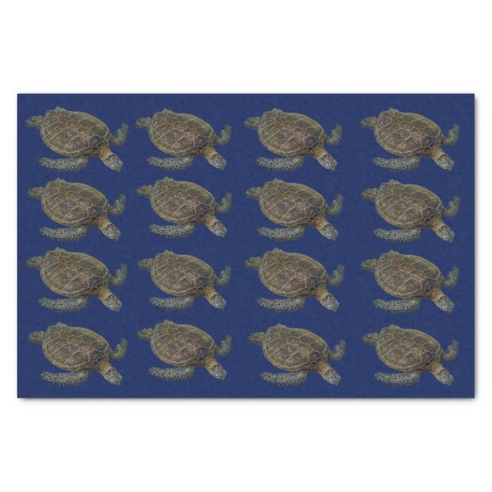 Hawaiian Sea Turtle Tissue Paper