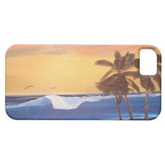 Hawaiian Seascape Painting iPhone Case