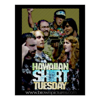 Hawaiian Shirt Tuesday Poster