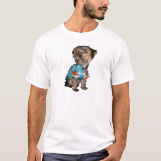 Hawaiian Shirt Yorkie Tee