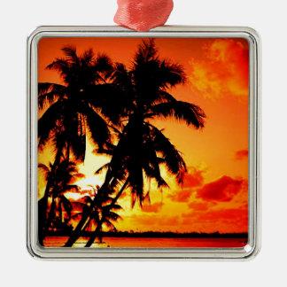 Hawaiian Sky Designs Originals III Metal Ornament