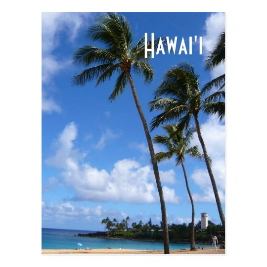 Hawai'ian Skyscrapers Postcard