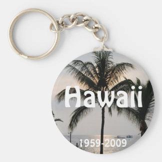 Hawaiian Statehood anniversary Keychain