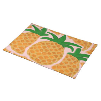 Hawaiian Style Pineapple Placemats