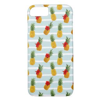 Hawaiian Summer Pineapple Seamless Pattern Case-Mate iPhone Case