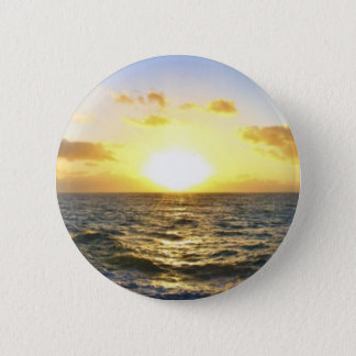 Hawaiian Sunset 2 Inch Round Button