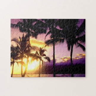 Hawaiian Sunset Jigsaw Puzzle