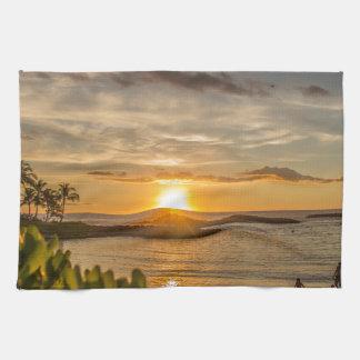 Hawaiian Sunset Kitchen Towel