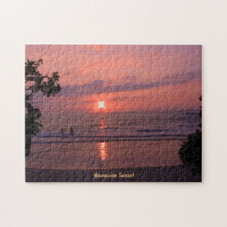 Hawaiian Sunset Puzzle