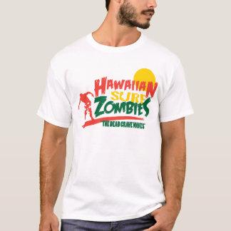 Hawaiian Surf Zombies Rasta T-Shirt