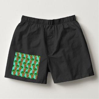 Hawaiian Tiki Repeat Pattern Boxers