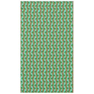 Hawaiian Tiki Repeat Pattern Tablecloth
