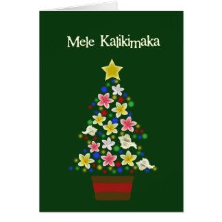 Hawaiian Tree Card
