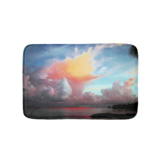 Hawaiian Tropical Colors Bath Mat