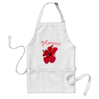 Hawaiian Tropical Flower Standard Apron