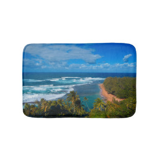 Hawaiian Tropical Island Bath Mat