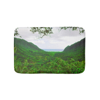 Hawaiian Tropical Island Valley Bath Mat