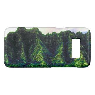 Hawaiian Tropical Mountain Range Case-Mate Samsung Galaxy S8 Case