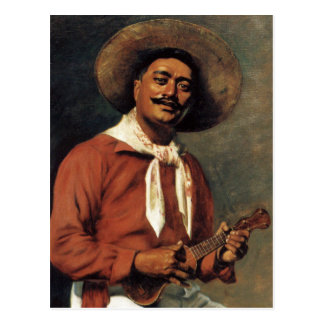 'Hawaiian Troubadour' - Hubert Vos Postcard