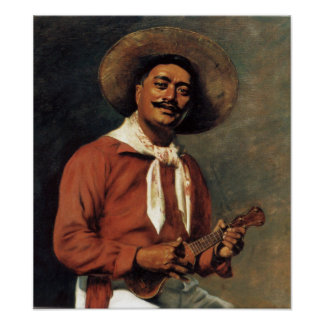 Hawaiian Troubadour - Hubert Vos Poster